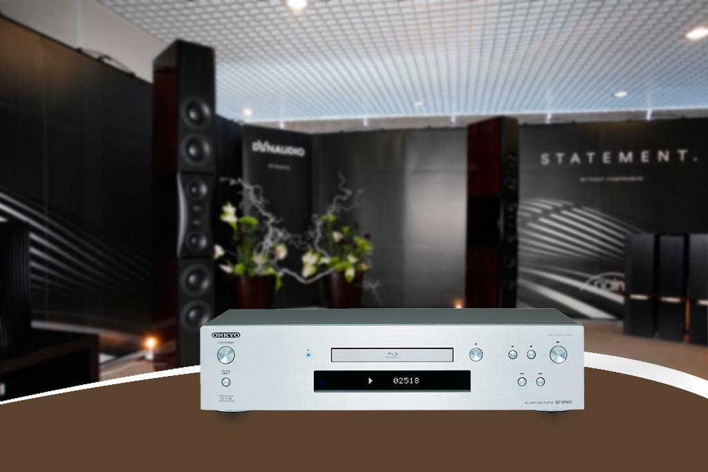 2. Dau Blu-ray Onkyo BD-SP809