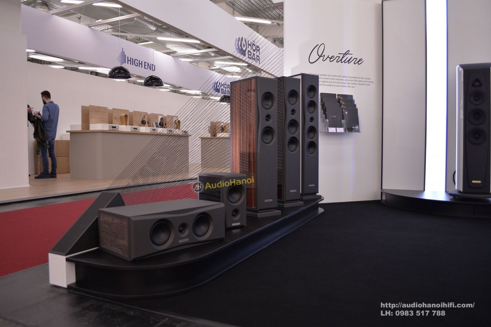 loa AudioSolutions Overture O201C tot