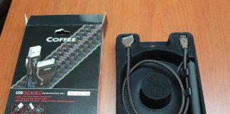 Day tin hieu USB AudioQuest Coffee chuan