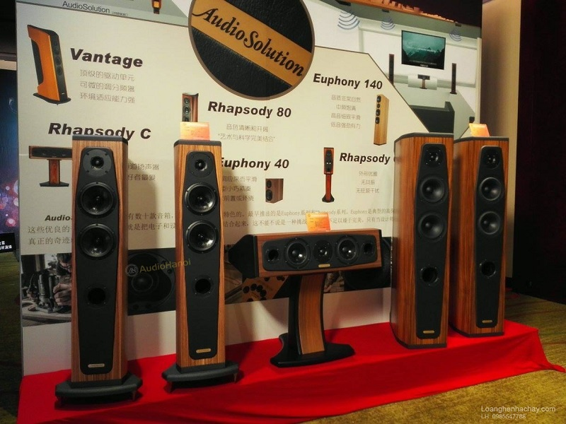 Loa AudioSolutions Rhapsody C dep