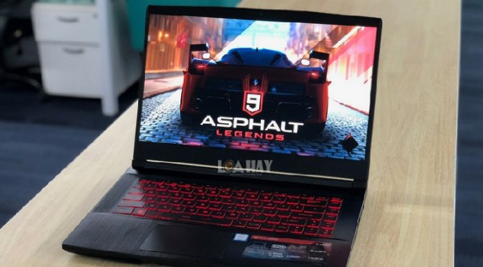 Laptop MSI GF63 chuan