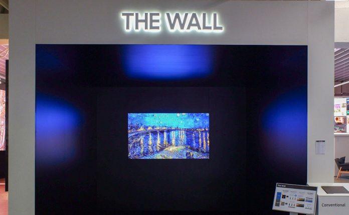 Man hinh Samsung The Wall va dong IF chuan