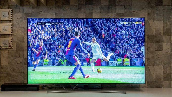 TV Samsung QLED 2018 chuan