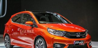 Xe Honda Brio chat