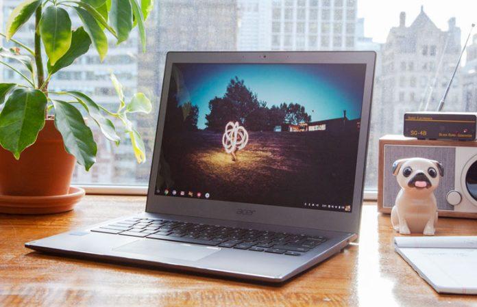 May tinh Acer Chromebook 13 chuan