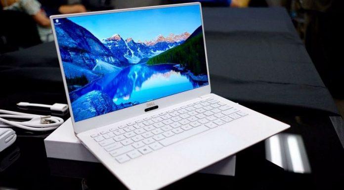 May tinh Dell XPS 13 chuan