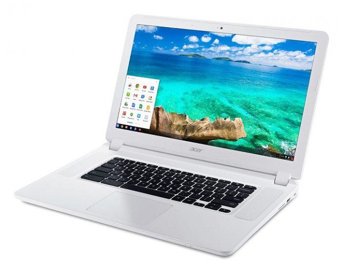 May tinh bang Acer Chromebook 15 chuan