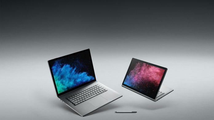 May tinh bang Microsoft Surface Book 2 chuan