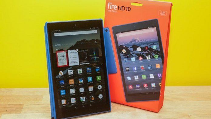 May tinh bang Amazon Fire HD 10 chuan