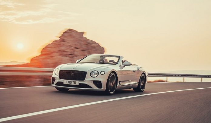 xe Bentley Continental GT Convertible chuan