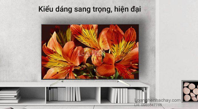 Android Tivi Sony 4K 49 inch KD-49X8500F/S chuan