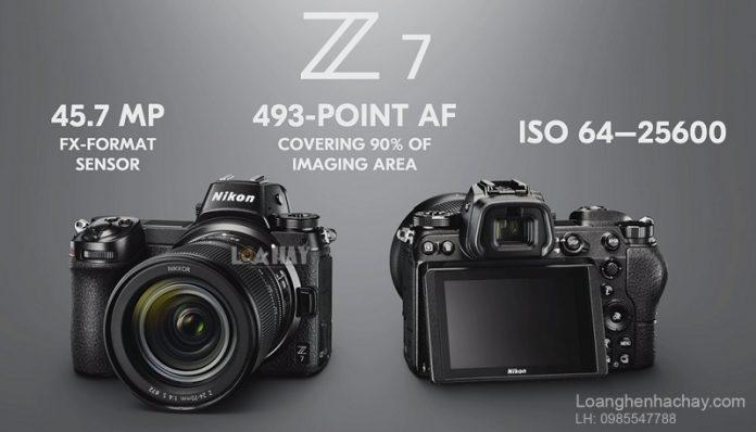 May anh khong guong lat Nikon Z6 và Z7 chuan