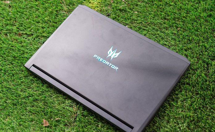 may tinh Acer Predator Triton 700 chuan