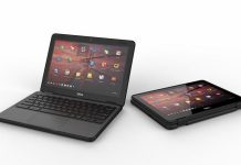 may tinh Dell Chromebook 5190 chuan