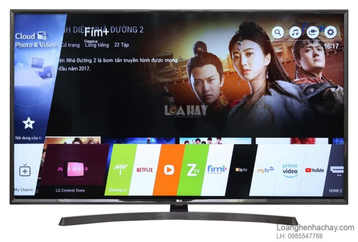 Smart Tivi LG 4K 49 inch 49UK6340PTF chuan