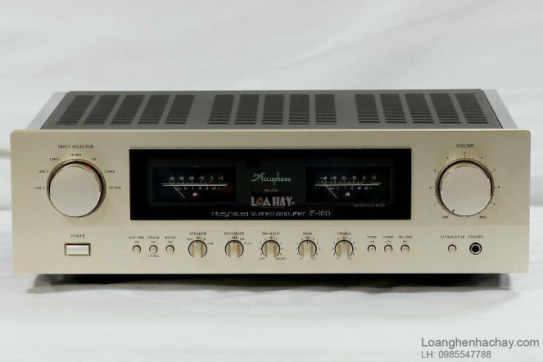 Ampli Accuphase E-260 chat