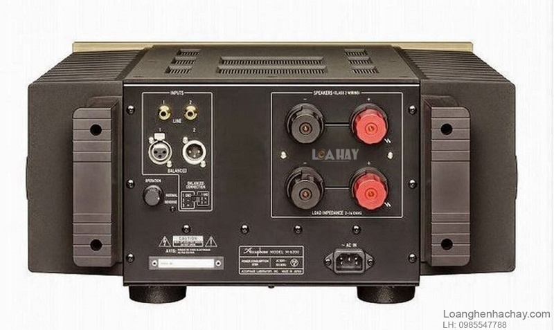 Power ampli Accuphase M6200 dep