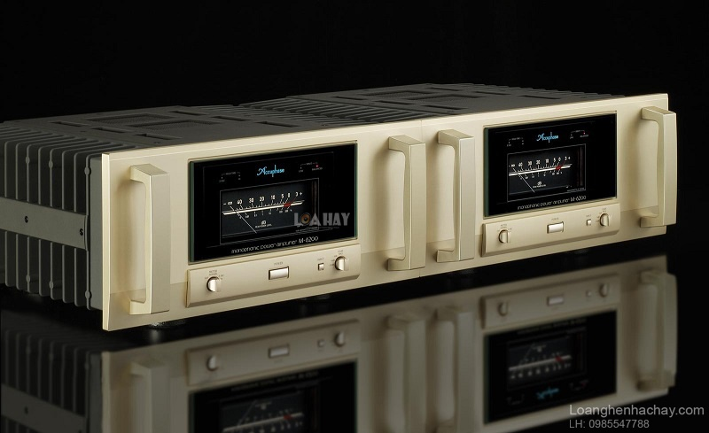 Power ampli Accuphase M6200 tot