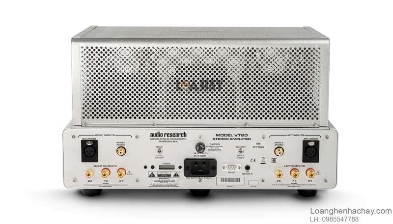 Power ampli Audio Research VT80SE tot