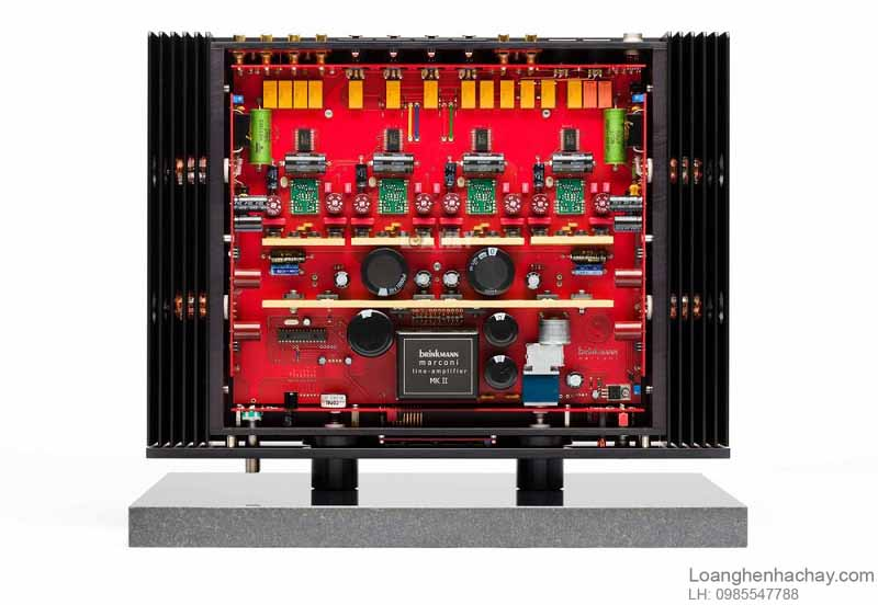 Preamp Brinkmann line-stage Marconi Mk II tot