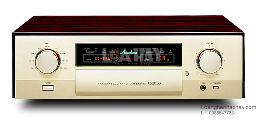 Ampli Accuphase C-2850 tot loanghenhachay