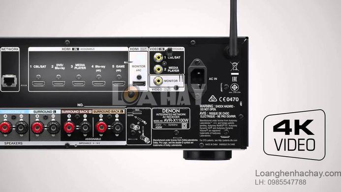Ampli Denon AVR-X1100W loanghenhachay