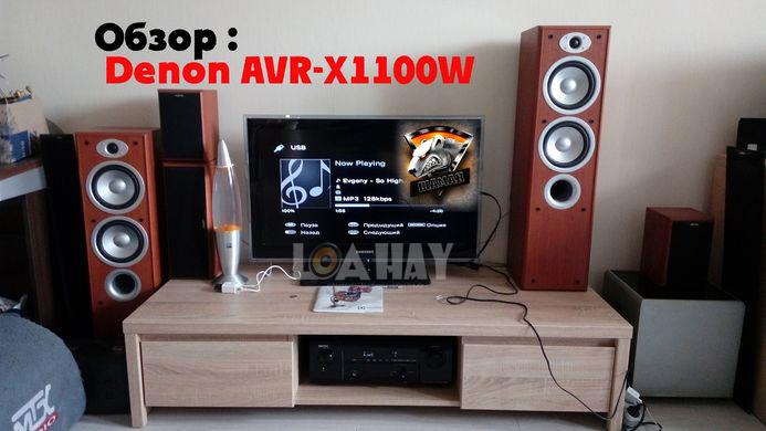 Ampli Denon AVR-X1100W trong bo dan loanghenhachay