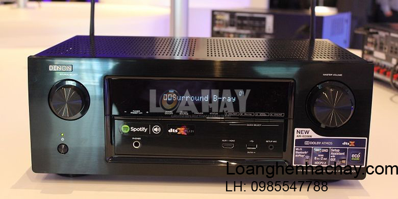 Ampli Denon AVR-X2200W hay loanghenhachay