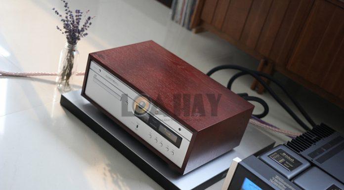 Dau CD/SACD Luxman D-380 loanghenhachay
