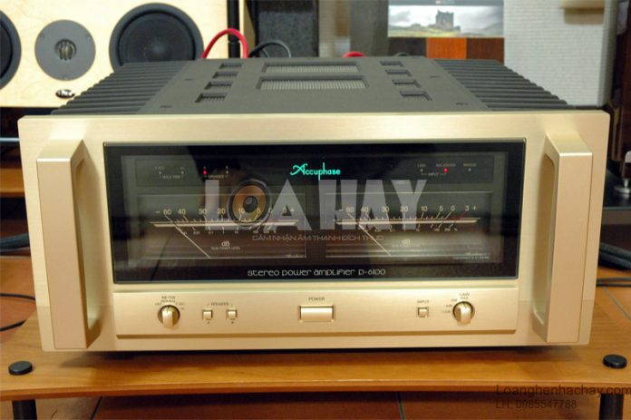 Power ampli Accuphase P-6100 loanghenhachay