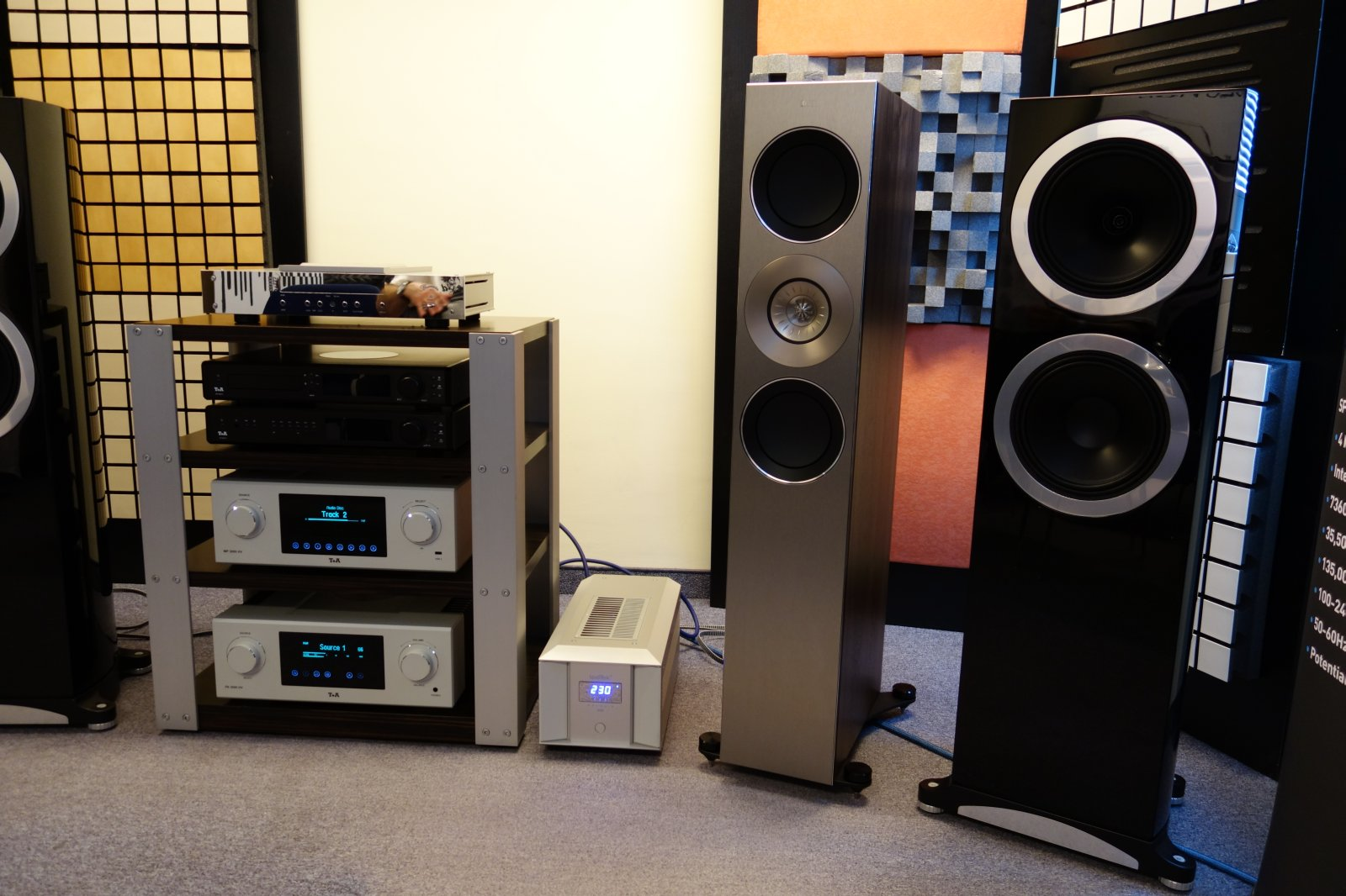 dong loa tannoy definition mat truoc