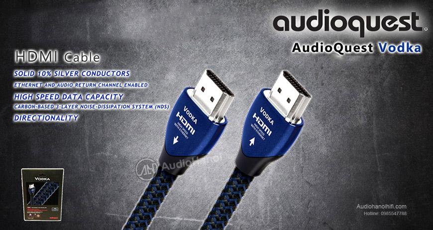 4. AudioQuest HDMI Vodka