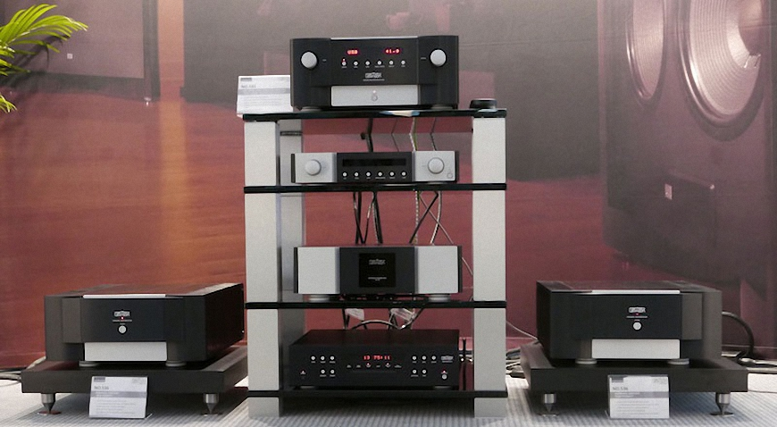 ampli Pre và Power Mark Levinson