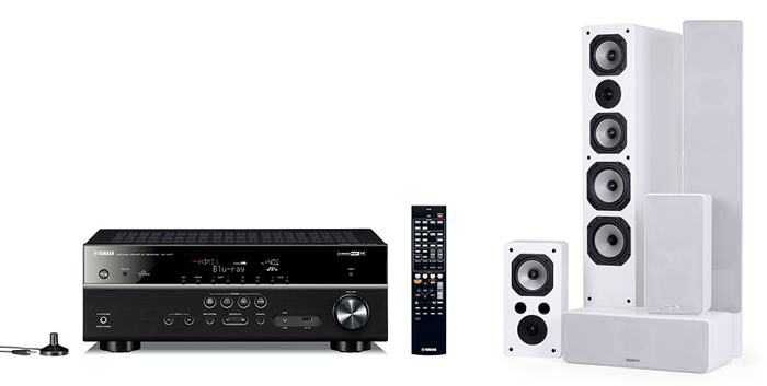ampli Yamaha RX-V481 trong bo dan