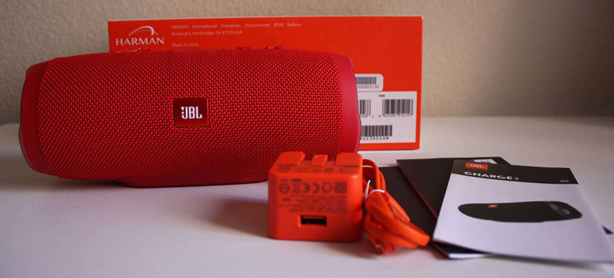 Loa JBL Charge 3 nho red