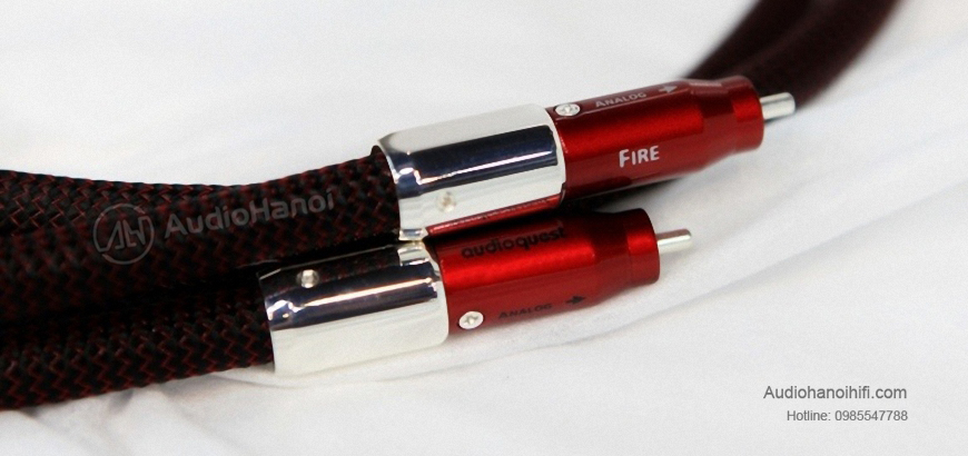day tin hieu AudioQuest Fire Elements dep