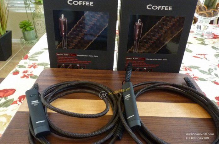 Day tin hieu Coaxial AudioQuest Coffee chuan