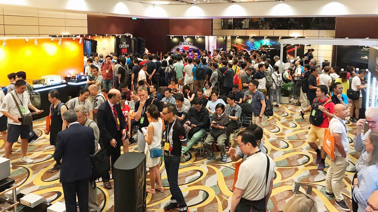 Hong Kong High End Audio Visual Show 2018 chat