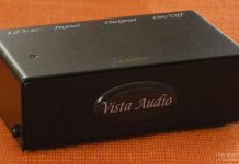 Phono pre ampli Vista Audio Phono-1 Mk II chuan