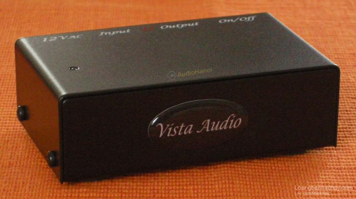 Phono pre ampli Vista Audio Phono-1 Mk II chuan