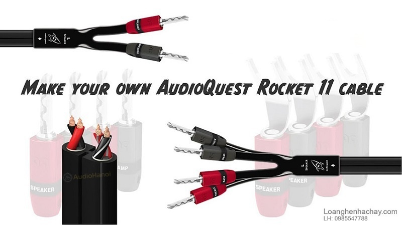 Day loa cuon AudioQuest Rocket 11 chat