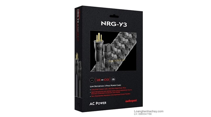 Day nguon AudioQuest NRG - Y3 dep