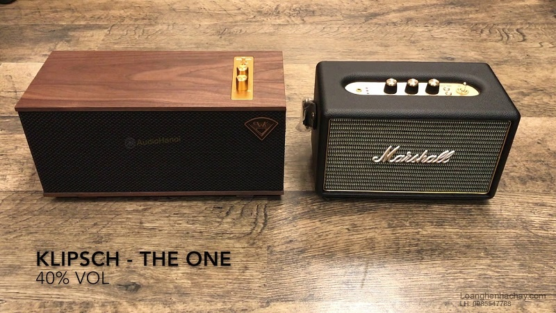 loa Klipsch The One chat