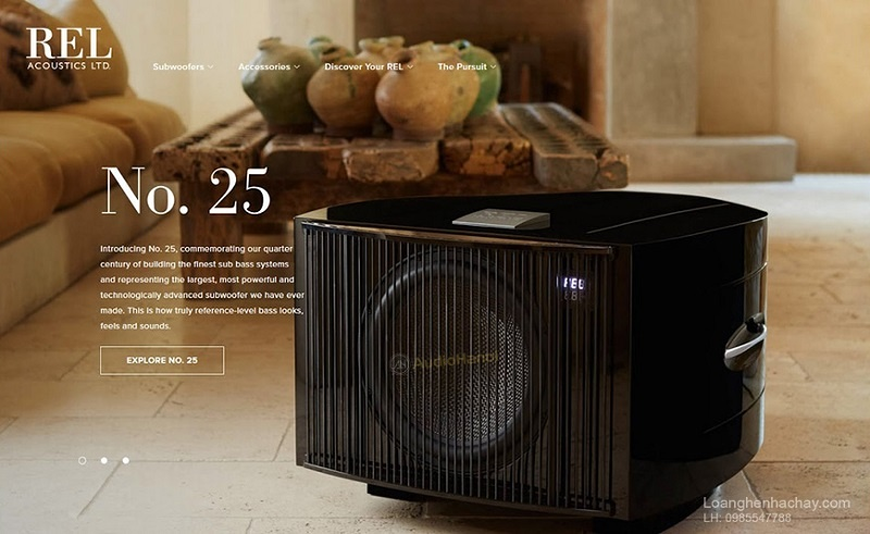 Loa subwoofer Rel No.25 chat