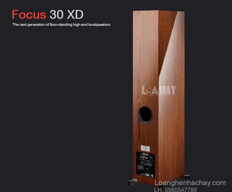 Loa Dynaudio Focus 30 XD mat sau