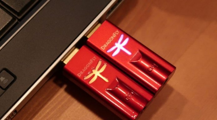AudioQuest DragonFly Red chuan