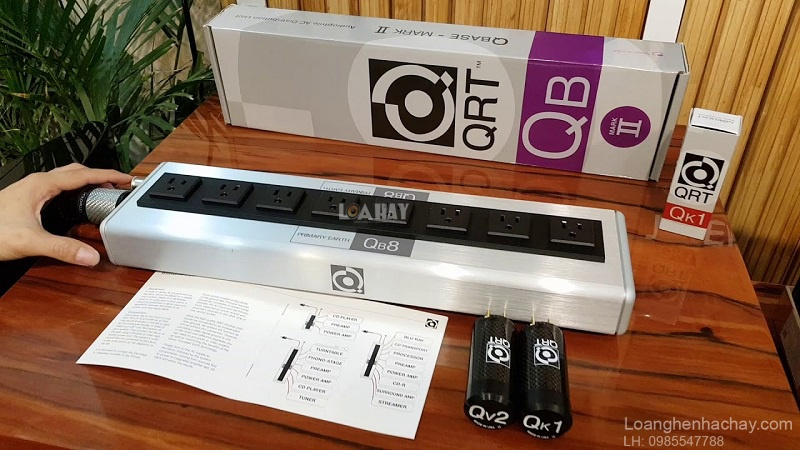 o cam Nordost QRT QB8 Mark II chat