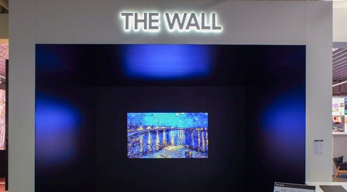 Man hinh Samsung The Wall va dong IF chuan