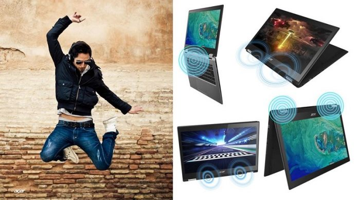 May tinh Acer Spin 3 chuan