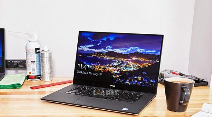 May tinh Dell XPS 15 chuan